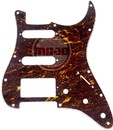 Mojotone Electric Guitar Pickguard For American Strat Hss Red Tortoise 3 Ply