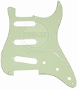 Mojotone Electric Guitar Pickguard For American Strat Sss Mint Green 3 Ply