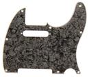 Fender Standard Tele Pickguard Black Pearl 8 Hole 4 Ply S/S