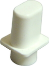 Tele Top Hat Selector Switch Tip Inch Sized (White)