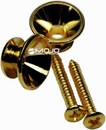 Mojotone Strap Buttons Vintage Fender Style Gold / 2