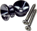Mojotone Strap Buttons Vintage Fender Style Chrome / 2