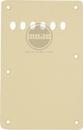 Standard Strat Backplate 1 Ply Parchment