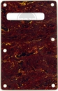 Standard Strat Backplate 3 Ply Red Tortoise