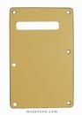 Standard Strat Backplate Cream 3 Ply