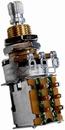 Mojotone 500K Audio Taper Push-Push Short Shaft Guitar Potentiometer