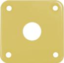 Gibson Style Jack Plate Cream