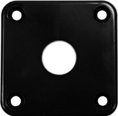 Gibson Style Jack Plate Black