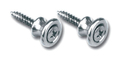 Gibson Style Aluminum Strap Buttons / 2
