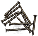 Mojotone Humbucker Mounting Ring Screws Nickel / 10