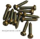 Mojotone Brass Humbucker Frame Mounting Screws