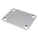 Neck Plate With Screws (Chrome)
