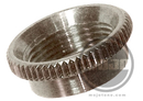 Deep Thread Round Nut For Switchcraft 3-Way Toggle Switches Nickel