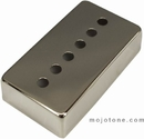 Mojotone Nickel Silver Humbucker Cover with 49.2 center holes