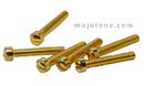 Mojotone Humbucker/P90 Vintage Spec Polepieces Gold / 6