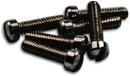 Short Humbucker/P90 5-40 Polepieces Black (1022 Steel)
