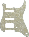 Fender Hss Stratocaster White Pearl 4 Ply 11 Hole Guitar Pickguard