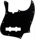 Fender Standard Jazz Bass Guitar Pickguard Black 3 Ply