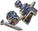 Mojotone Guitar & Bass Strap Locks Chrome Schaller Style (Per Piece)