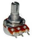 100Ka 16Mm Short Split Shaft Pc Mount Potentiometer