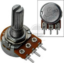 250Ka 16Mm Long Split Shaft Pc Mount Potentiometer