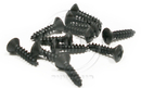 Fender Style Black Logo/Pickguard Screws