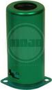 Fender Style Tube Shield for 9 Pin Socket Green