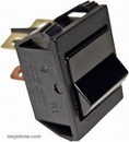 Black Rocker Switch (Replacement For Marshall Amps)