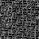British Style Black Grill Cloth 48