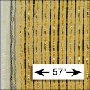 Fender Style Beige Brown W/ Gold Stripe Grill Cloth / 57