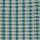 Fender Style Turquoise/White/Silver Grill Cloth / 36