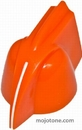 Mojotone Orange Chicken Head Knob