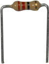 1/4W 470 Ohm Resistor