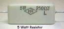 Wirewound Ceramic 5W 1K Ohm Resistor