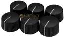 Fender Black Barrel Knobs