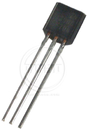 Bc549C Af Low Noise Npn To-92 65V Transistor