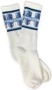 Mojotone White Tube Socks L/XL