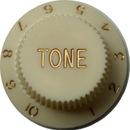 Strat Tone Knob (Aged White)