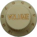 Strat Volume Knob (Aged White)
