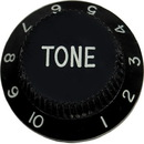Strat Tone Knob (Black)
