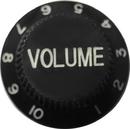 Strat Volume Knob (Black)