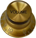 Top Hat Volume Knob (Gold/Gold)