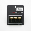 Gotoh In Tune Compensated Brass Tele Guitar Saddles