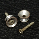 Gotoh Relic'D Fender Style Strap Buttons (Aged Chrome)
