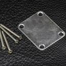 Gotoh Relic'D Vintage Neck Plate W/Screws (Aged Chrome)