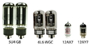 Tweed Twin Low Power Vacuum Tube Kit