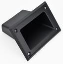 Black Plastic Pocket Cabinet Handle
