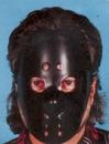 Morris Costumes 10-552 Hockey Mask Black