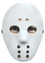 Morris Costumes 10-557 Hockey Mask White