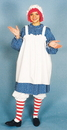 Morris Costumes 12-110 Raggedy Ann Adult